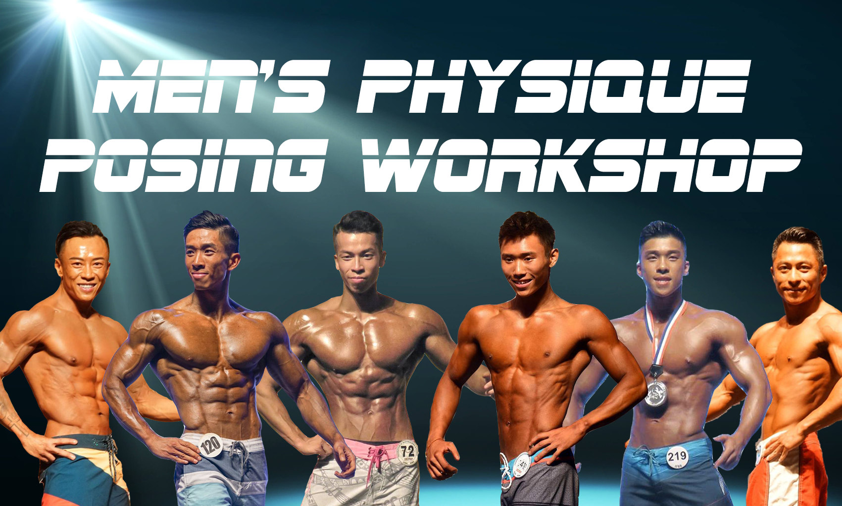 Men's Physique Posing Workshop