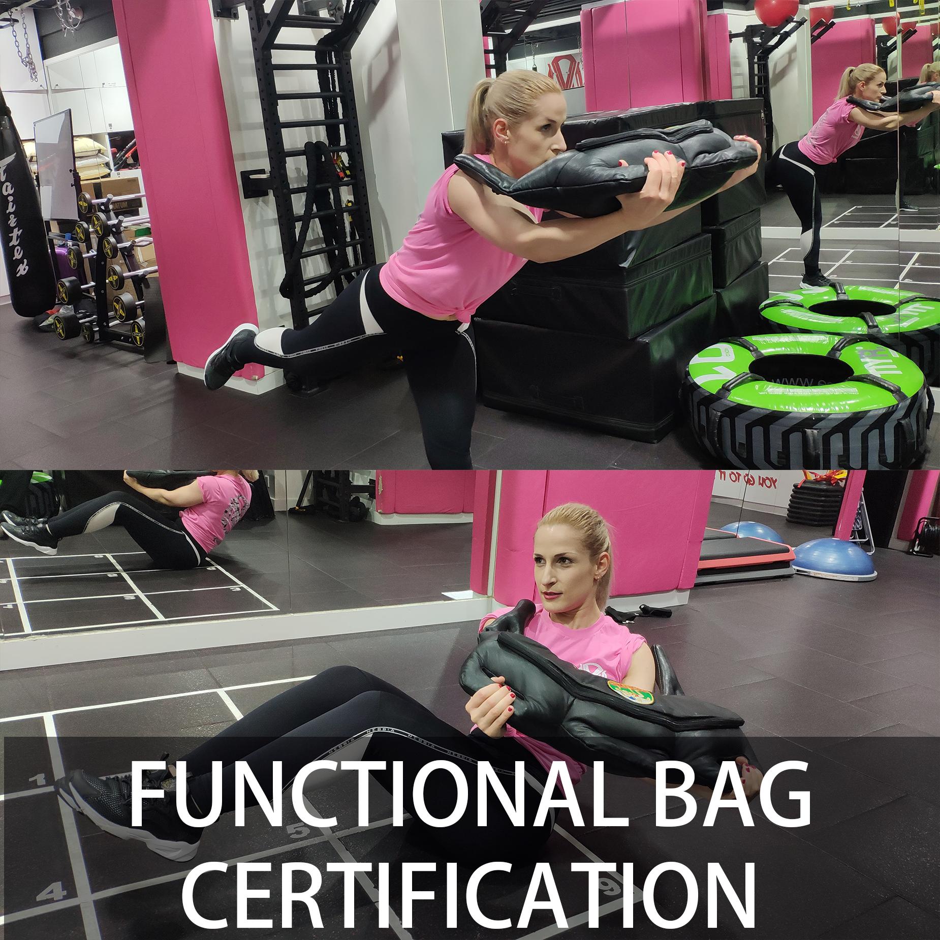 保加利亞袋證書課程(Functional Bag Certification)